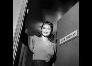 Miss Bergman – Mrs. Lindstrom