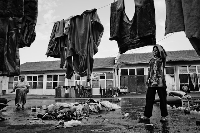 6/6-2010.Mitrovica,Kosovo.  There are also high lead levels in Osterede in Mitrovica. The children often suffer from poor blood count inhaling lead vapors from slag heaps and drinking contaminated water in camps. Laundry and garbage lie together at